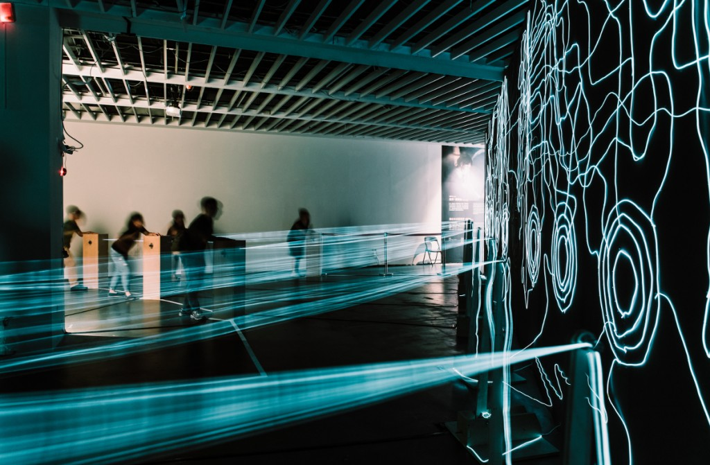 Positively Charged at the Digital Art Centre, Taipei. Photo by Lafun Photography.